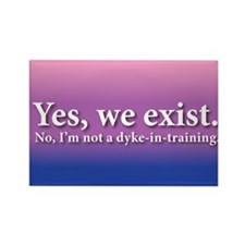 Not A Dyke-In-Training Rectangle Magnet (10 pack)