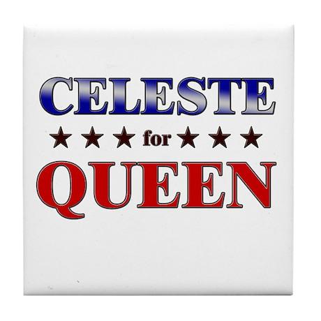 CELESTE for queen Tile Coaster