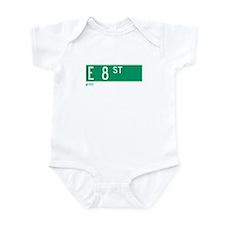 8th Street in NY Infant Bodysuit