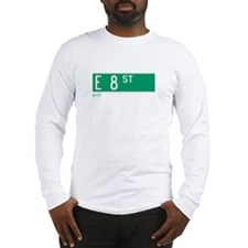 8th Street in NY Long Sleeve T-Shirt