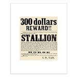 Reward Horse Thief Small Poster