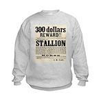 Reward Horse Thief Kids Sweatshirt