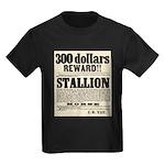 Reward Horse Thief Kids Dark T-Shirt