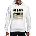 Reward Horse Thief Hooded Sweatshirt