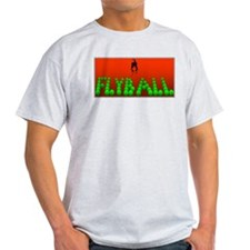 Flyball Dog with background T-Shirt