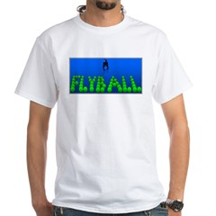 Flyball Dog with background Shirt