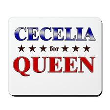 CECELIA for queen Mousepad