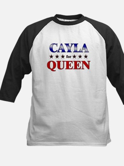 CAYLA for queen Kids Baseball Jersey