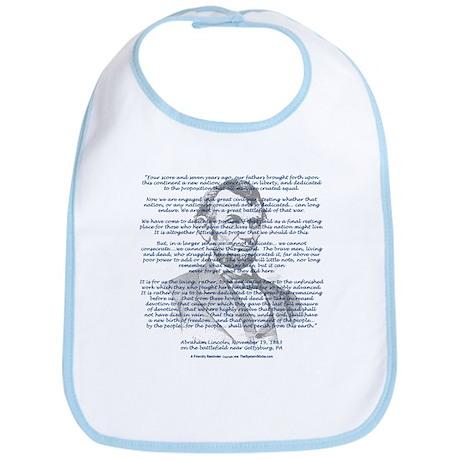 Gettysburg Address Bib