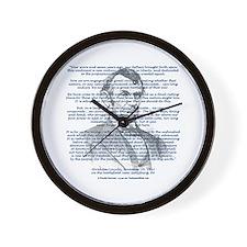 Gettysburg Address Wall Clock