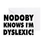 Nodoby's Greeting Cards (Pk of 10)