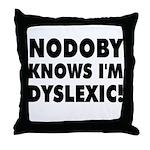 Nodoby's Throw Pillow