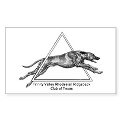 TVRRCOT Logo Rectangle Decal