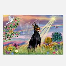 Cloud Angel & Dobie Postcards (Package of 8)