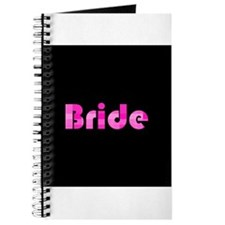 Bride - Pink Bubble Retro Journal