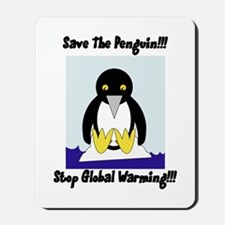 Save The Penguin Mousepad