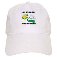 Save The Polar Bear Baseball Baseball Cap