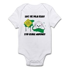 Save The Polar Bear Infant Creeper