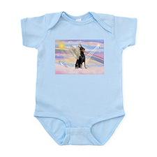 Dobie Angel in Clouds Infant Bodysuit