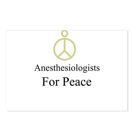 Anesthesiologists Postcards (Package of 8)