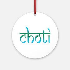 Choti Ornament (Round)