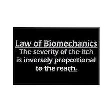 Law of Biomechanics Magnet