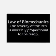 Law of Biomechanics Magnet