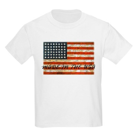Made In The USA Kids Light T-Shirt