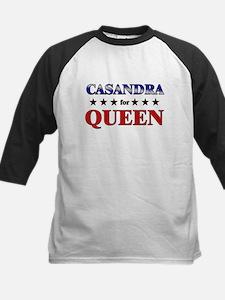 CASANDRA for queen Kids Baseball Jersey