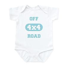 Off Road Baby Blue Infant Bodysuit