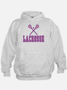 Lacrosse Purple Hoodie
