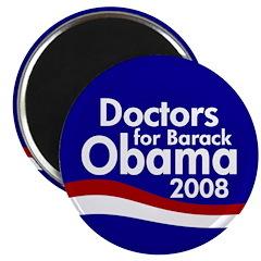 Doctors for Barack Obama Magnet