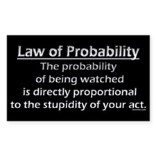 Law of Probability Decal