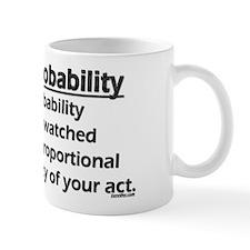 Law of Probability Small Small Mug