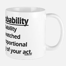 Law of Probability Small Small Mug