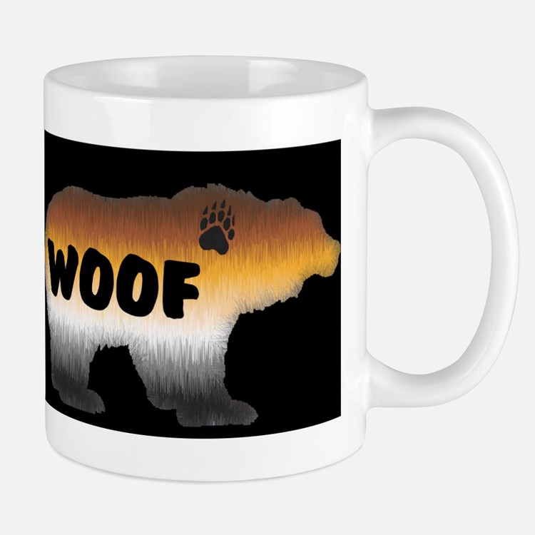 PRIDE BEAR/WOOF/BLK Mug