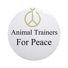 Animal Trainers Ornament (Round)