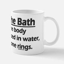 Law of the Bath Small Small Mug