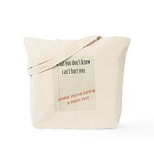 Math Test Tote Bag