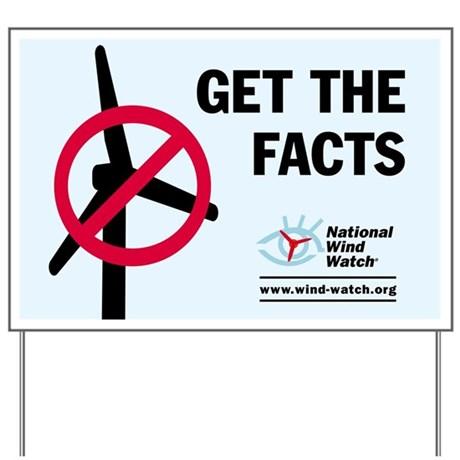 Get the Facts Yard Sign