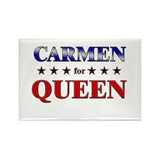 CARMEN for queen Rectangle Magnet