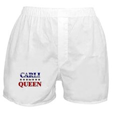 CARLI for queen Boxer Shorts