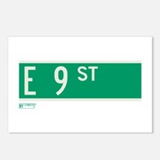 9th Street in NY Postcards (Package of 8)