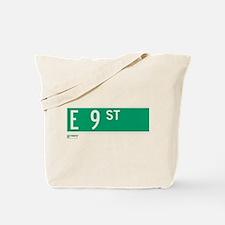 9th Street in NY Tote Bag