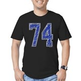 74 Fitted T-shirts (Dark)
