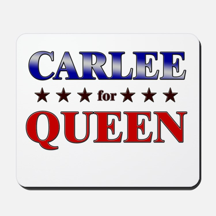 CARLEE for queen Mousepad