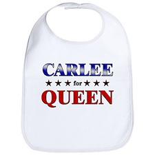 CARLEE for queen Bib