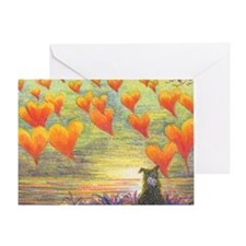 Thinking of You (with love) Greeting Card