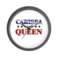 CARISSA for queen Wall Clock