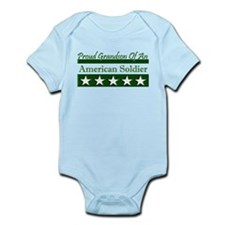 Grandson of American Soldier Infant Bodysuit